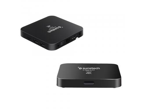 RECEPTOR SMART TV BOX SUNSTECH SUNCASTBK 8GB QUAD CORE WIFI