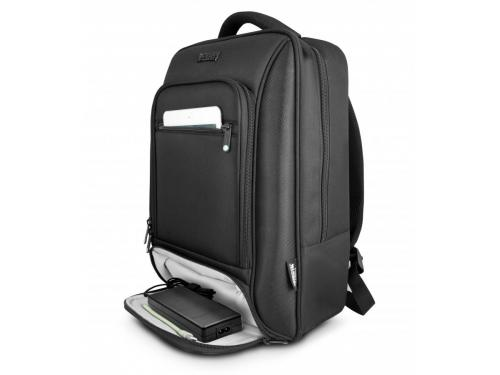 MOCHILA ORDINADOR PORTATIL URBAN FACTORY NEGRA