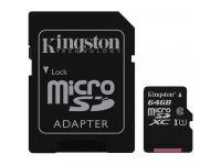 TARJETA MICRO SD 64GB KINGSTON SDCS64GB