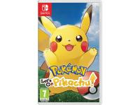 JUEGO NINTENDO SWITCH POKEMON LETS GO PIKACHU