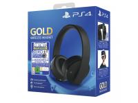 AURICULARES SONY PS4 FORTNITE VCH 2019 GOLD HEADSET