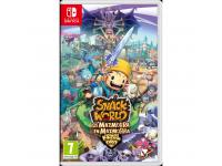 JUEGO NINTENDO SWITCH SNACK WORLD DE MAZMORRA EN MAZMORRA
