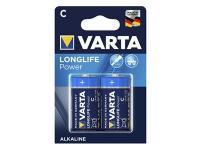 PILA ALCALINA VARTA LONGLIFE POWER 1.5V. LR14 ( 2-BLISTER )